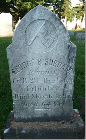 SURDAM_George B_headstone_1898_LakeviewCemSkaneatelesOnondagaNewYork_cropped