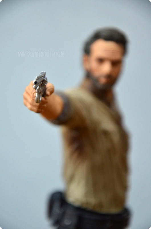 #twd (04) The Walking Dead McFarlane Action Figure Deluxe Rick Grimes