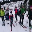 Skitour auf den Steinberg am 7.2.2016 mit Brigitte Bock