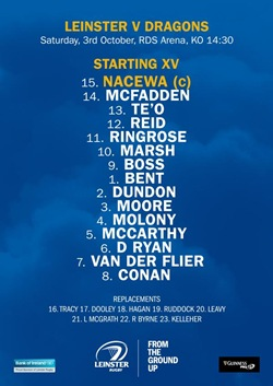 Leinster team NGD