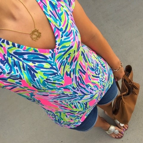 monogram, preppy style, jack rogers, lilly pulitzer, old navy