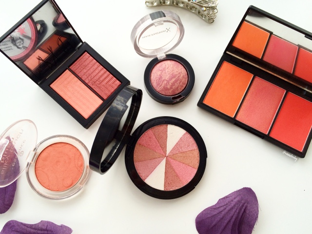 best blushers with a sheen and glow