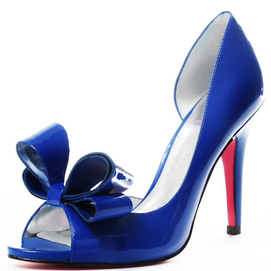 purple blue wedding shoes
