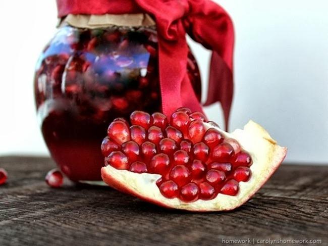 Pomegranate Facial Scrub via homework  carolynshomework (9)_thumb