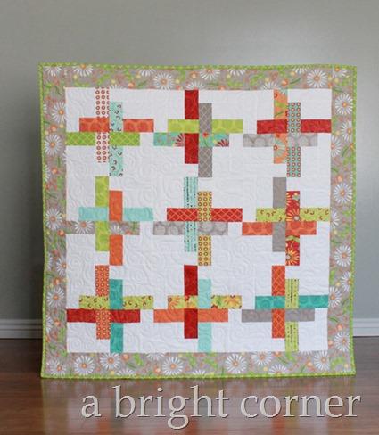 Hello Washi baby quilt