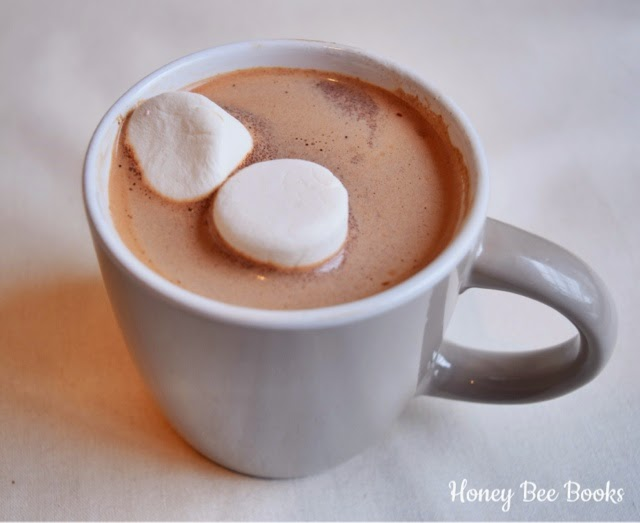 A delicious cup of hot chocolate can solve most problems