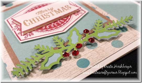 Framed_Aug SOTM_Christmas_fundamentals_card_holly-cu