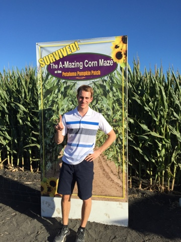 Corn Maze Survivor