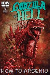 Actualización 21/11/2015: E.P.Green nos trae el ultimo numero de Godzilla In Hell, #5. Muchas gracias!