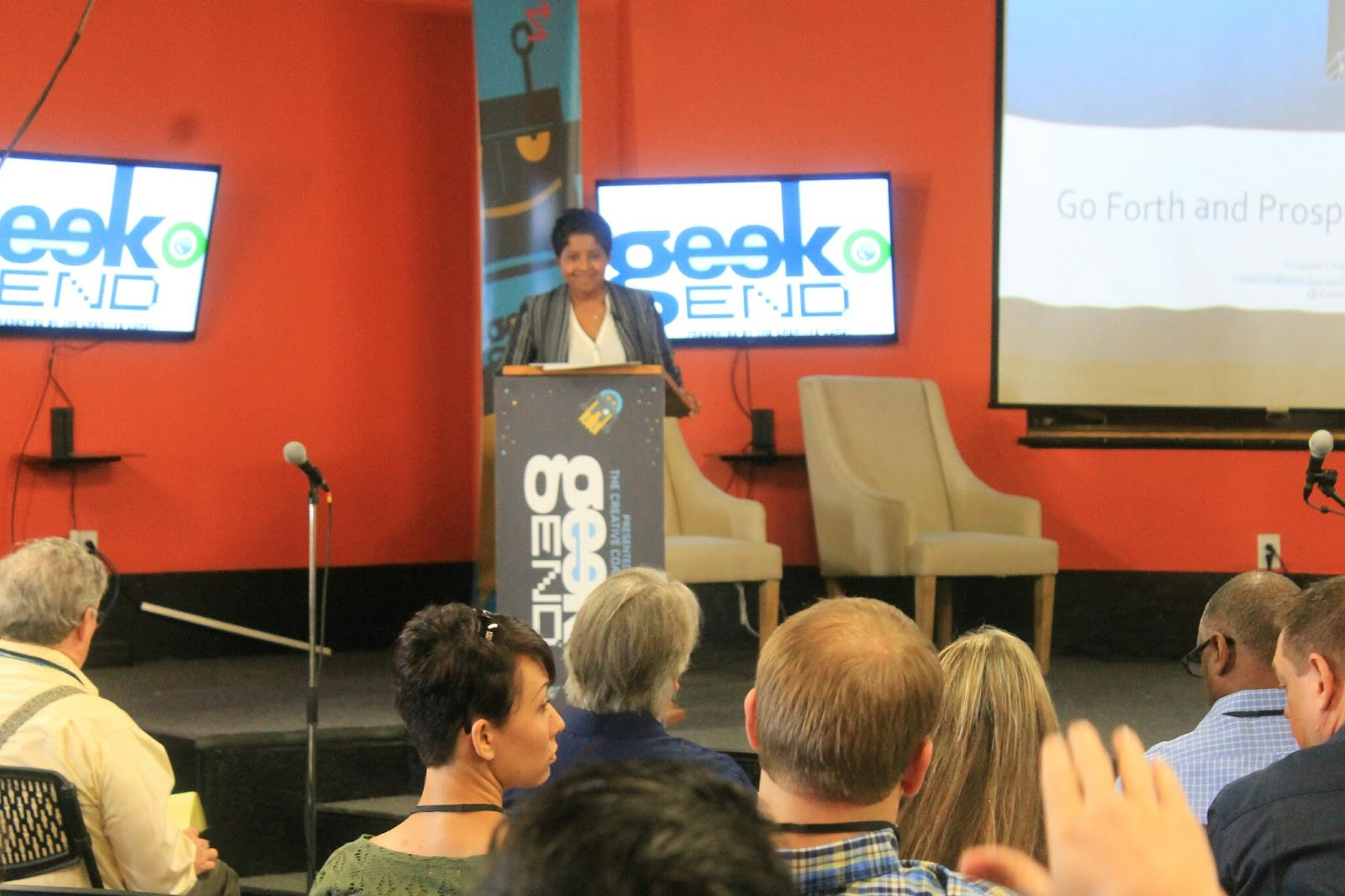 Vasanthi Chandra, Founder & SVP of Products RewardsPay Geekend Technology Conference Savannah Georgia 2015