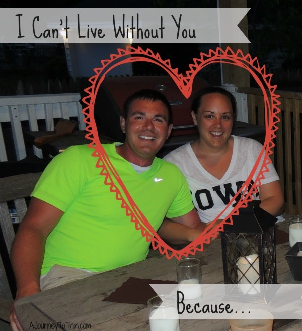I can't live without you because #loveandprotect