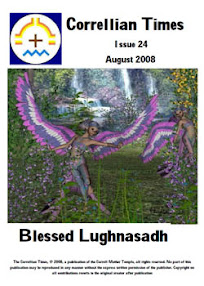 Cover of Correllian Times Emagazine's Book Issue 24 August 2008 Blessed Lughnasadh