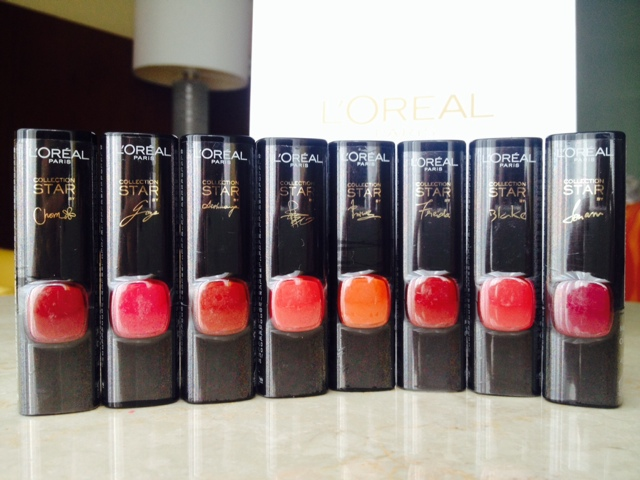 L'Oreal Paris Star Collection Matte Reds