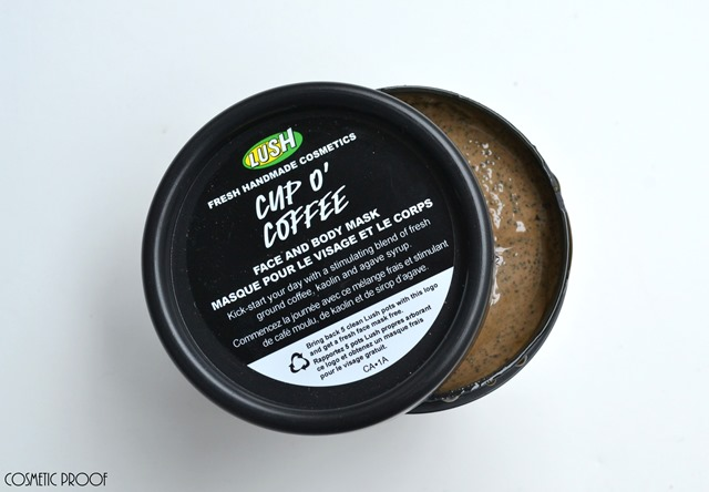 Lush Fresh Face Masks Rosy Cheeks Don't Look at Me Cup O Coffee Review (1)
