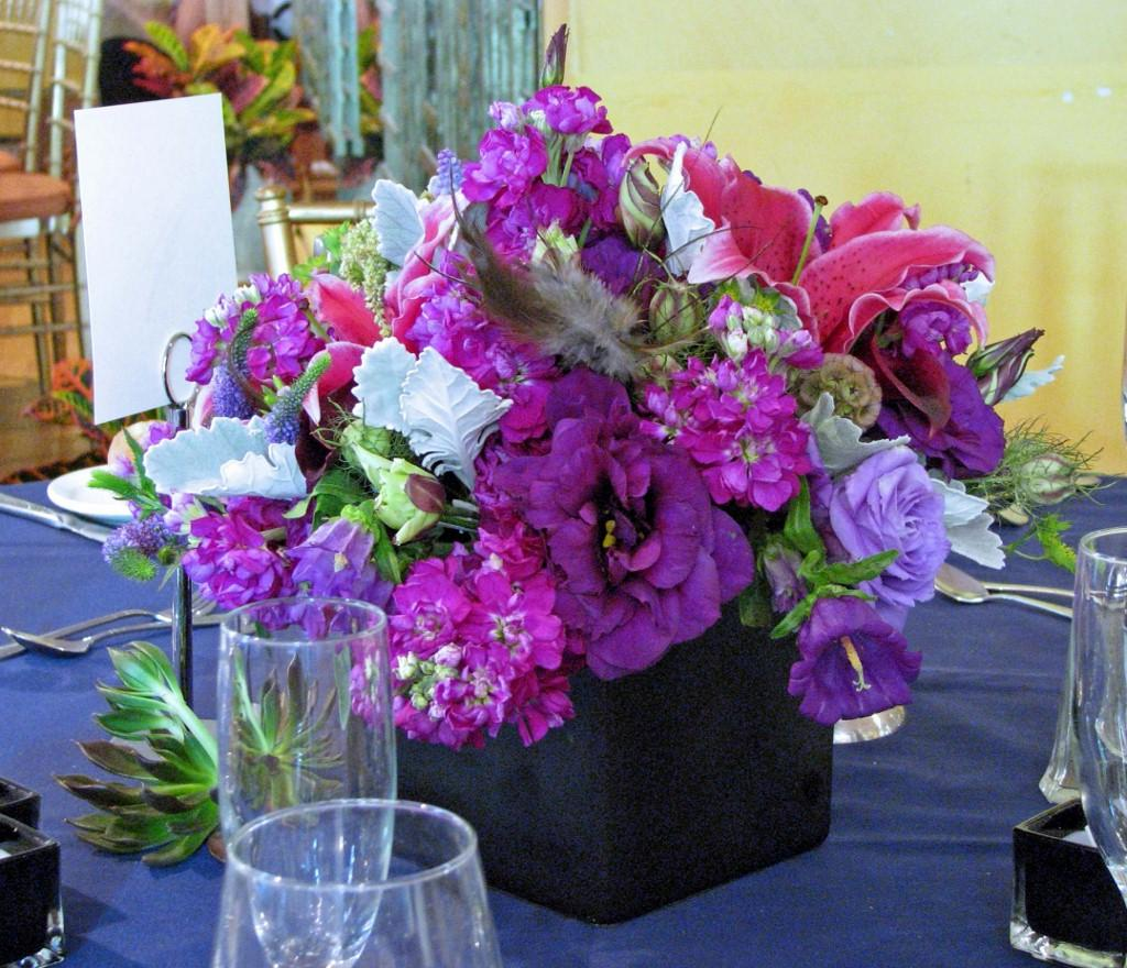 square tall centerpieces