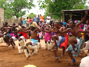I just love the energy they put into the mchongolo dance, and it was a great way to finish my last Sunday in Dumphries.