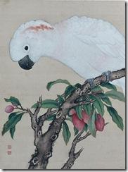 JIANG-TINGXI-(1669-1732)-ENCRE-POLYCHROME-SUR-SOIE-DE-L-ALBUM--NIAO-PU--(MANUEL-DES&HELLIP-