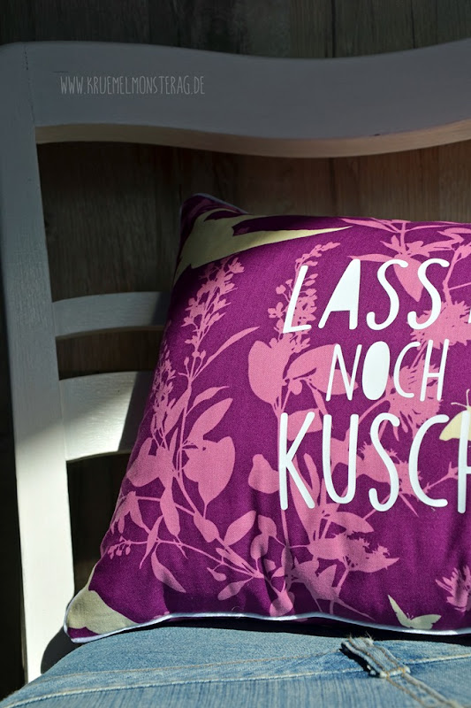 Lassmanoch Kuschelkissen (04) für Beate