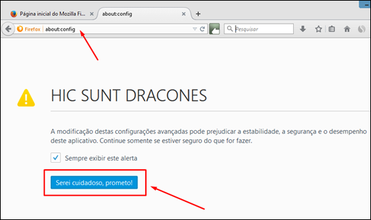 "Erro ""chrome://quick_start/content/index.html"" do Firefox - como corrigir - Visual Dicas"