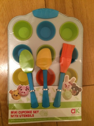 Annabel Karmel Mini Cupcake Set With Utensils