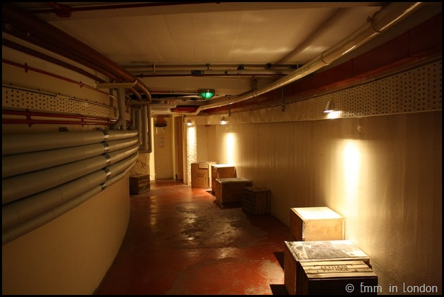 Eltham Palace - Corridor in Wartime Bunker