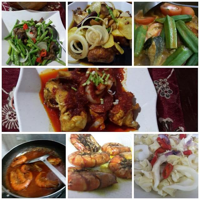 7 menu masakan untuk 5 hari bekerja dalam seminggu