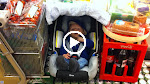 Otto med ude at handle i Metro inden barnedåben