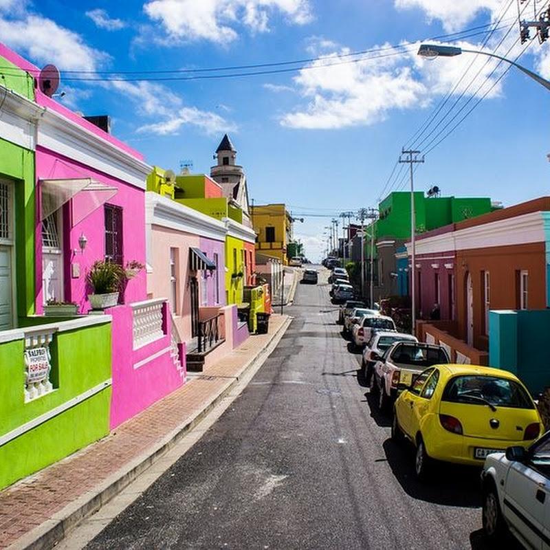 Bo-Kaap, The Colorful Neighborhood in Cape Town