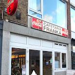 cafetaria franka in IJmuiden, Noord Holland, Netherlands