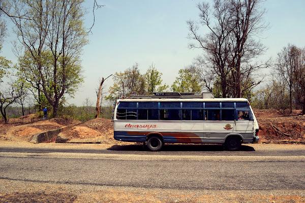 непал равнина автобус