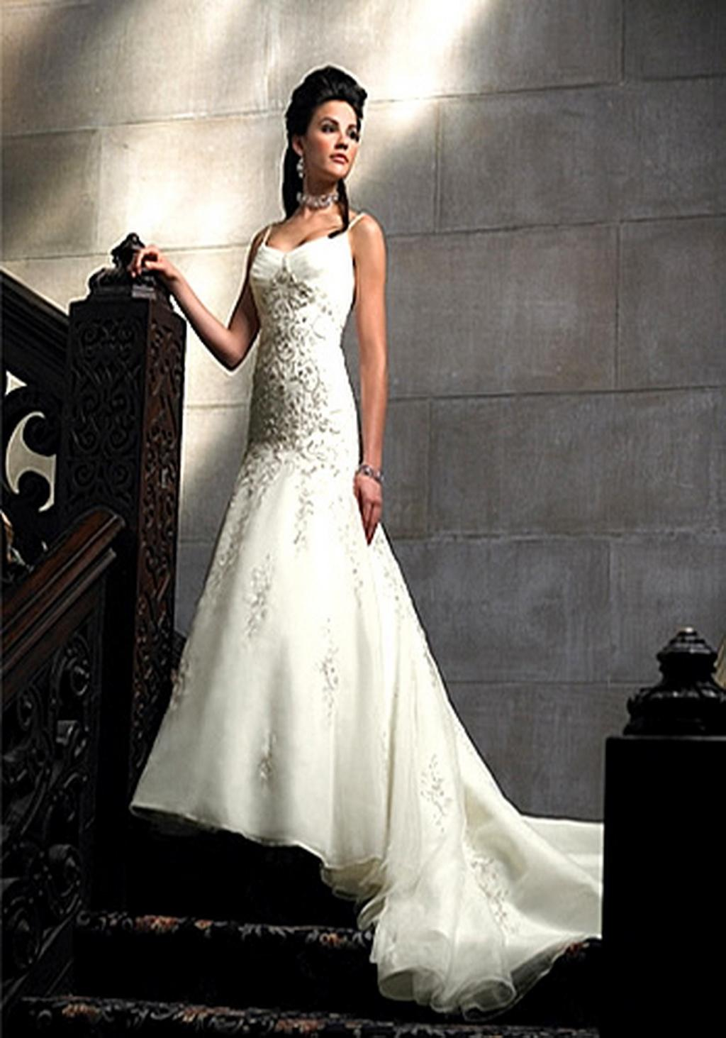 10 lavish 2011 wedding dress 2