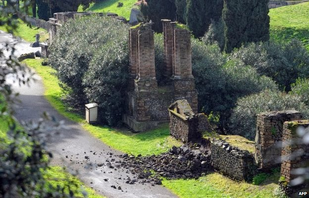 More Stuff: Damaged Pompeii to receive Italy rescue fund
