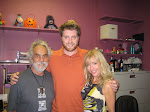 with Tommy Chong and Shelby Chong at Zanies in Vernon Hills