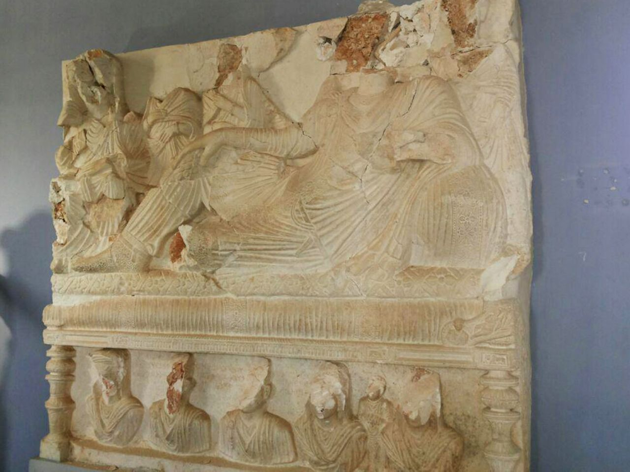 Near East: Grim new details of damage at Palmyra museum
