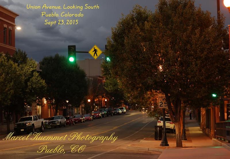 Union Avenue, Pueblo CO, Looking South