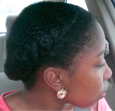 Flat twists crown