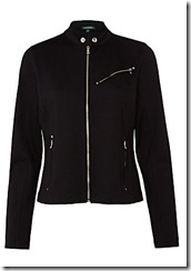 Lauren Ralph Lauren black jersey zipped jacket