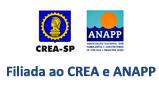Somos filiados ao CREA e a ANAPP