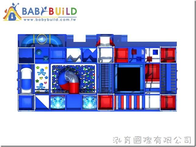 BabyBuild 室內3D泡管兒童遊樂園設計規劃