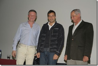 El diputado nacional y referente en materia de educación, Mario Oporto acompañó a Juan Pablo de Jesús