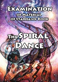 Cover of Anonymous's Book Examination Of Material Of Starhawk Book The Spiral Dance