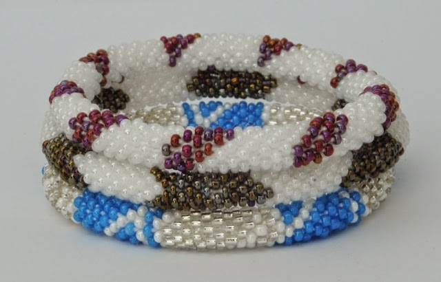 assorted blue and black red