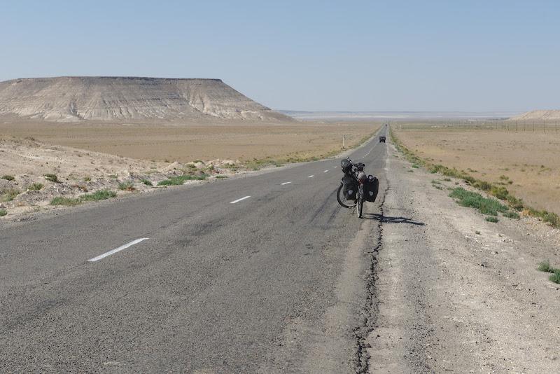 Ultimii kilometri spre Marea Caspica.