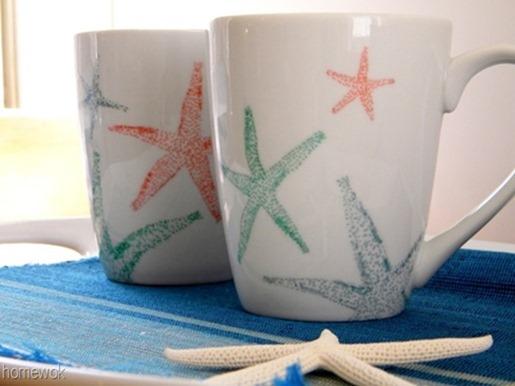 Starfish Mugs 6[6]