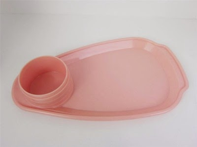 Model 1239 pink Thermos carafe with a cup tray specifically for Lily brand cup tray base only