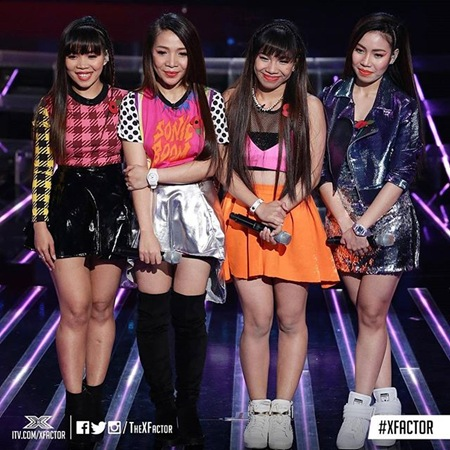 4th Impact - X Factor UK 2nd live show