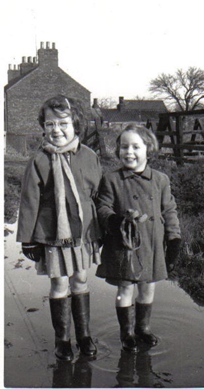 Sue(6) & Jen(4)