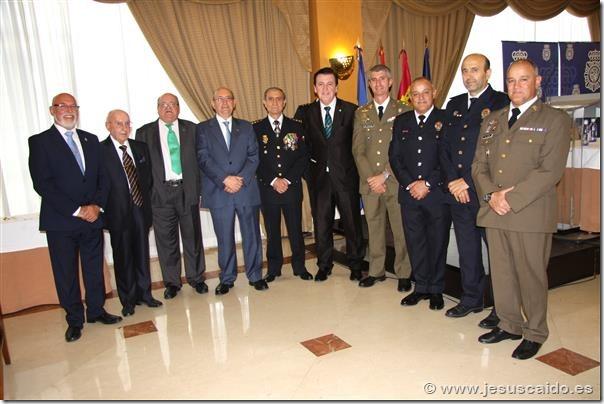Representantes de nuestra Cofradía en el acto celebrado en Ciudad Real