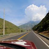 Chegando a Baños, Equador