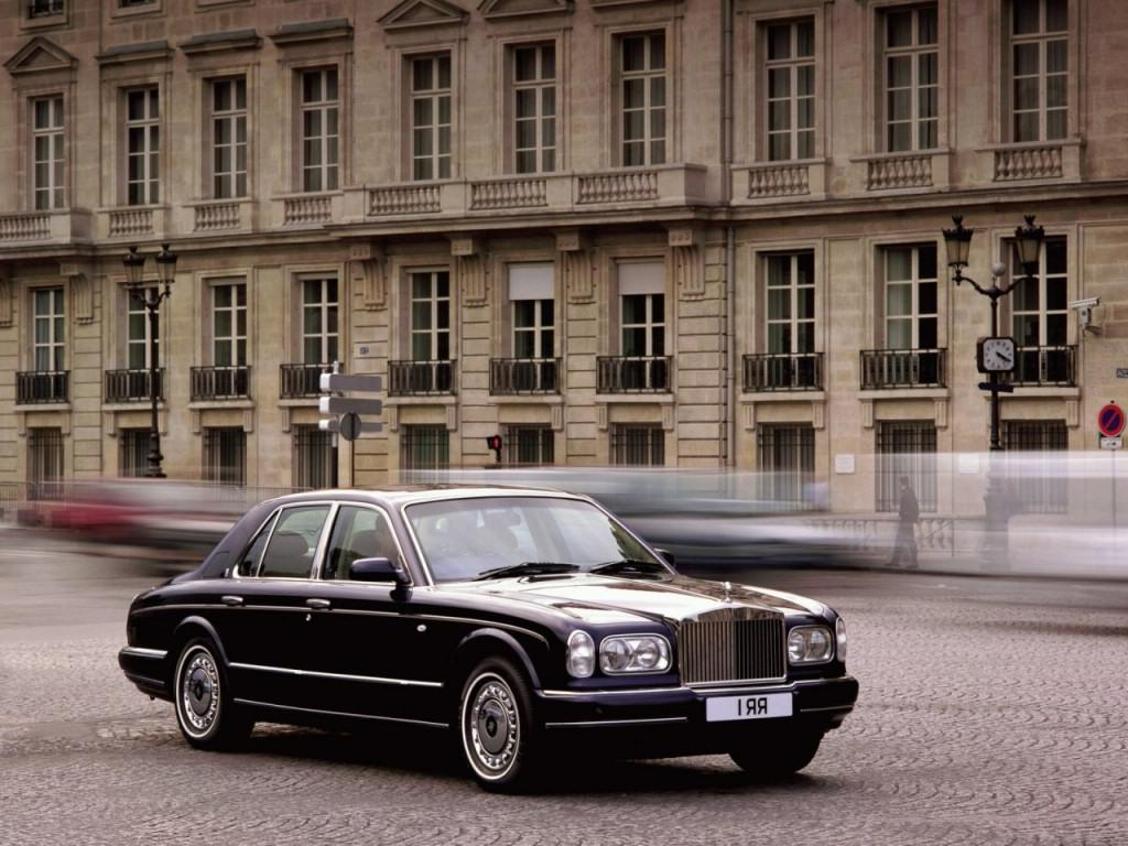 Yeah, the Bentley Arnage was a